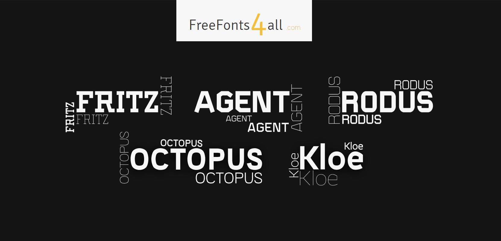 FreeFonts4All Free Fonts4all com - Free fonts + web-fonts